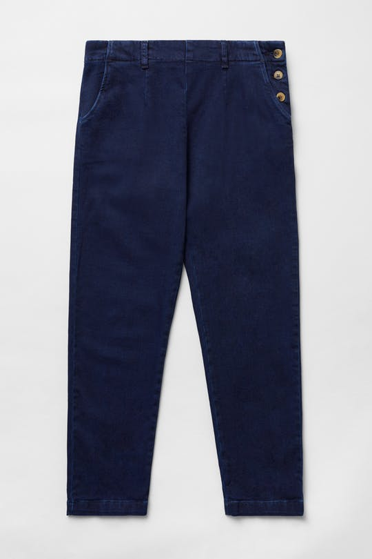 Seasalt Waterdance Trousers for Ladies in Dark Indigo Wash