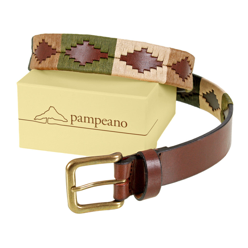 Pampeano Polo Belt in Valiente