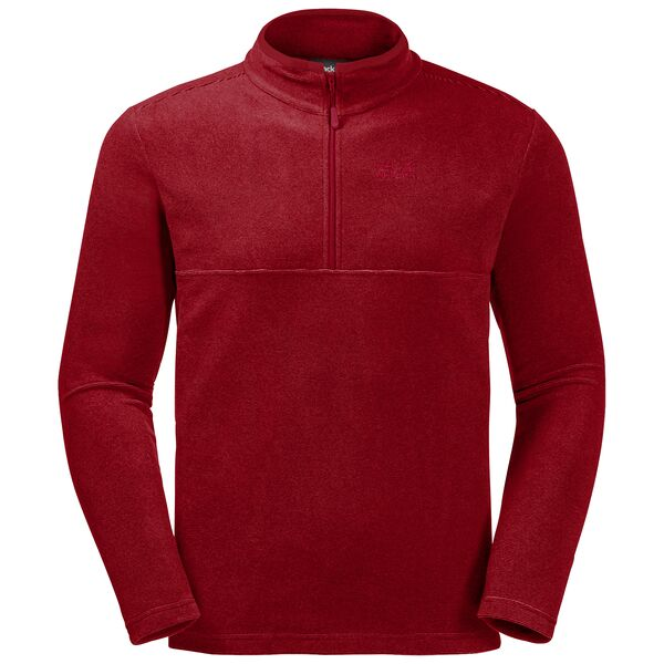 Jack Wolfskin Arco Fleece for Men in Dark Lacquer Red