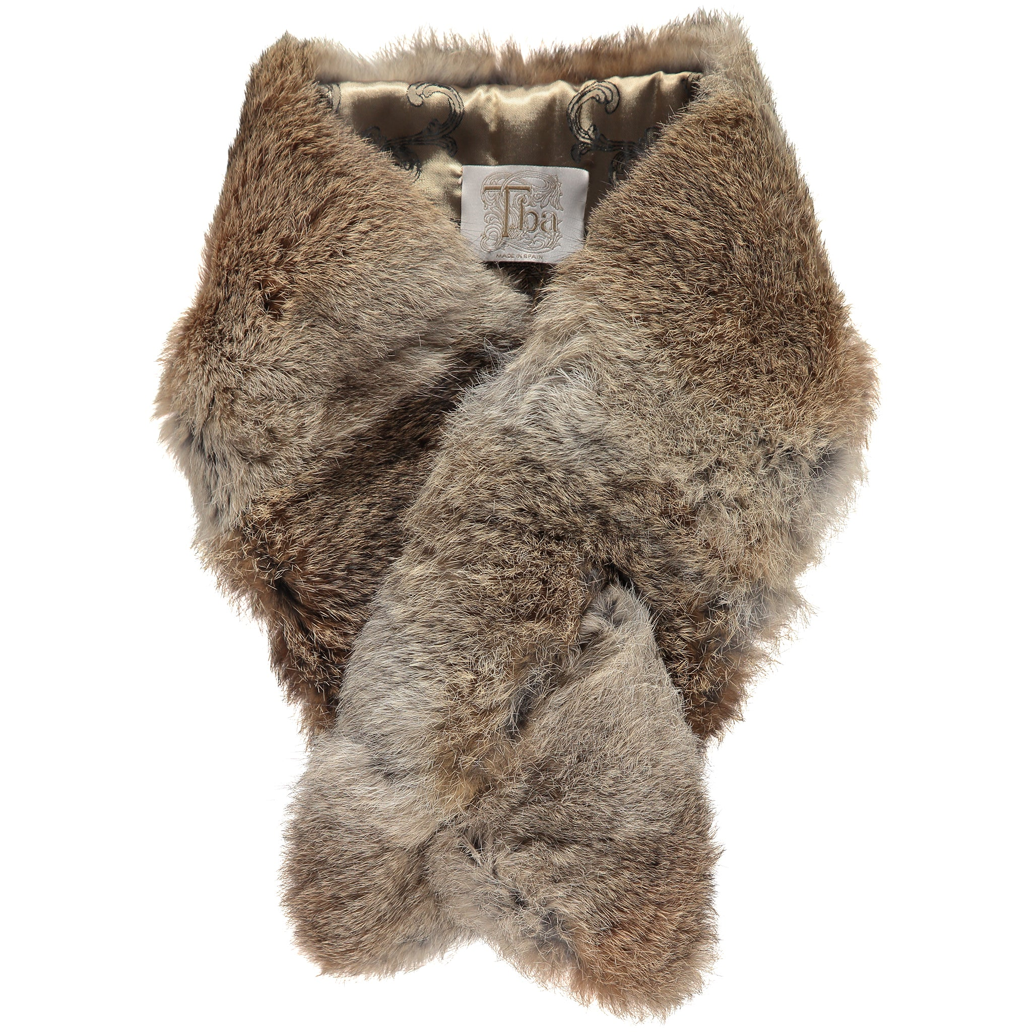 T.Ba Rabbit Fur Collar for Ladies