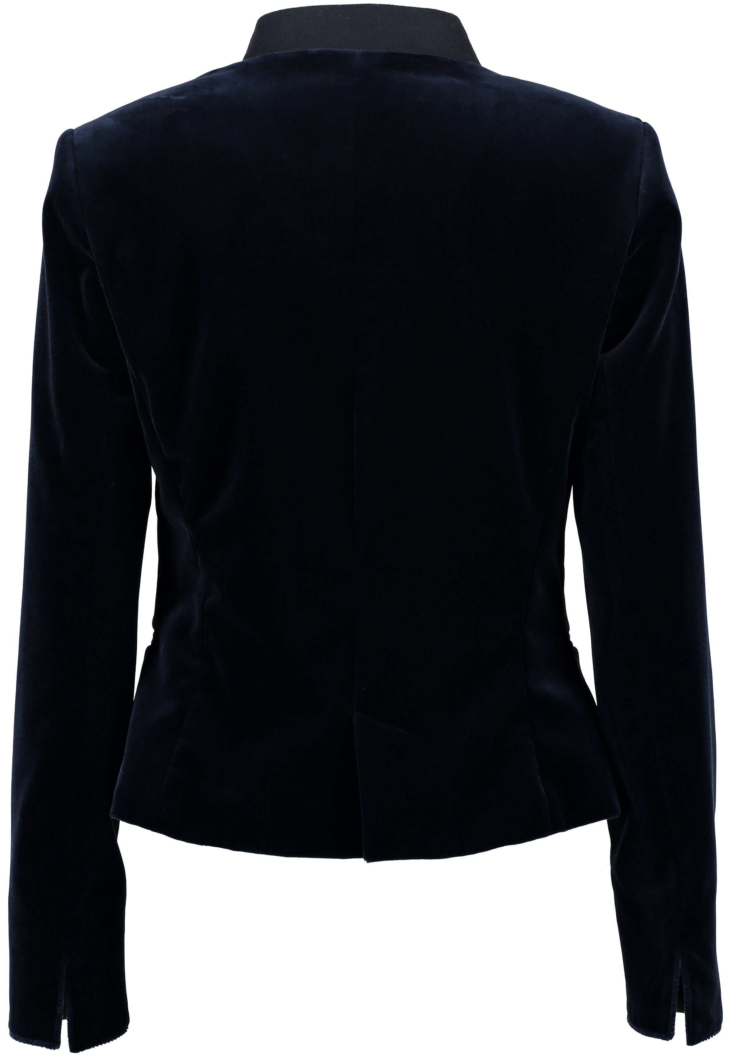 Bauer Short Velvet Coat for Ladies in Marine