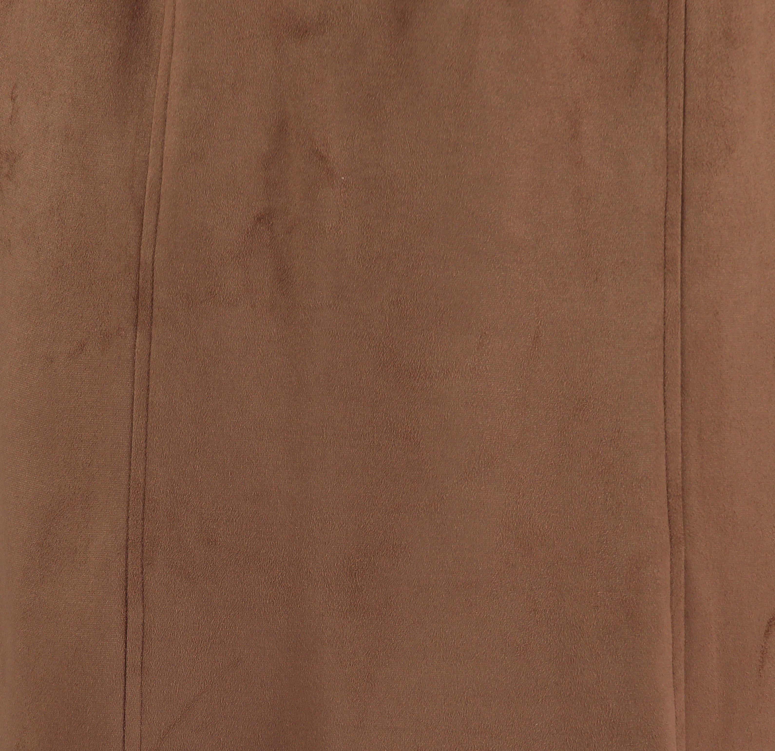 Landmark Farmcote Mock Suede Skirt for Ladies in Tan