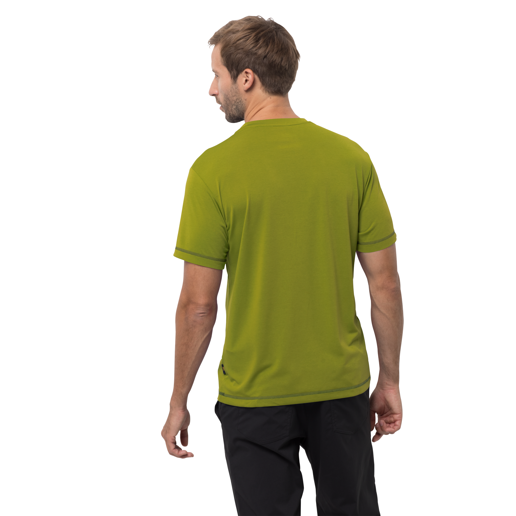 Jack Wolfskin Crosstrail T for Men in Eucalyptus Green