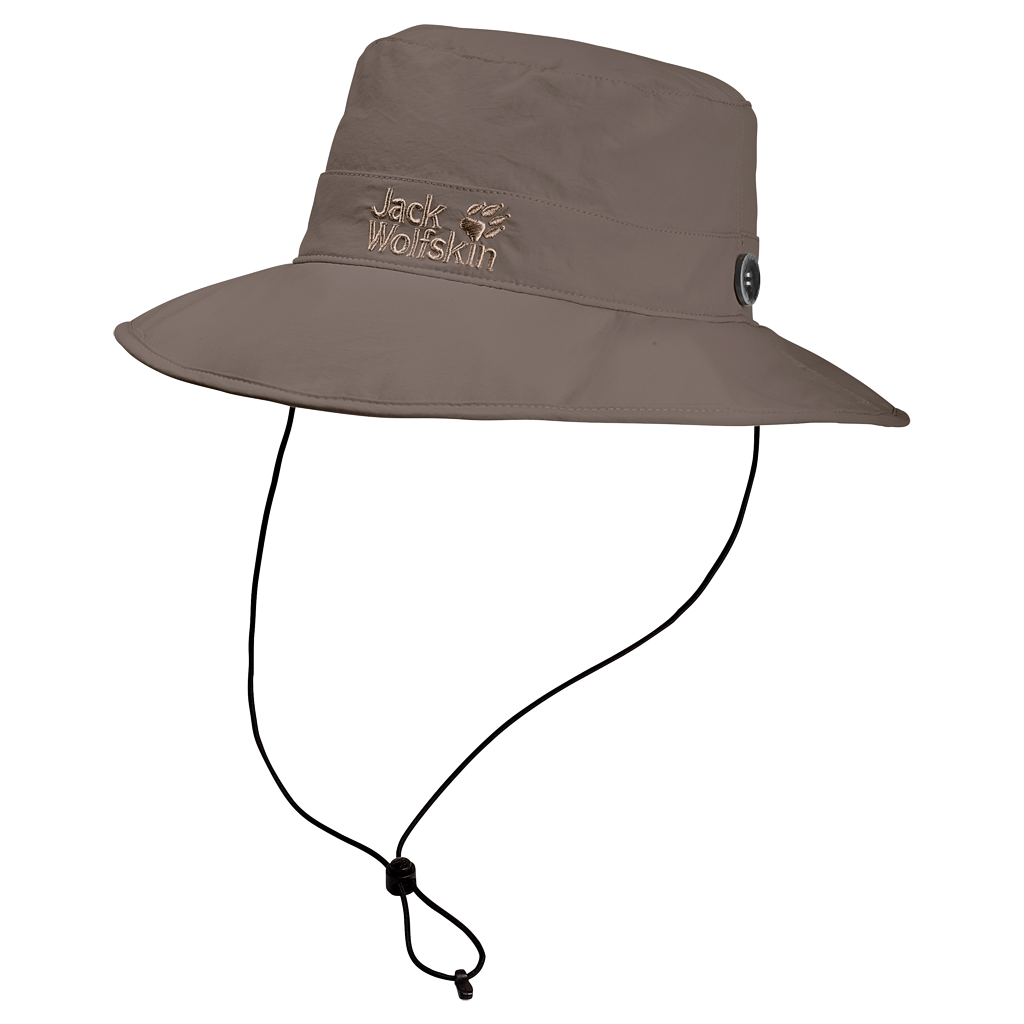 Jack Wolfskin Supplex Mesh Hat in Siltstone