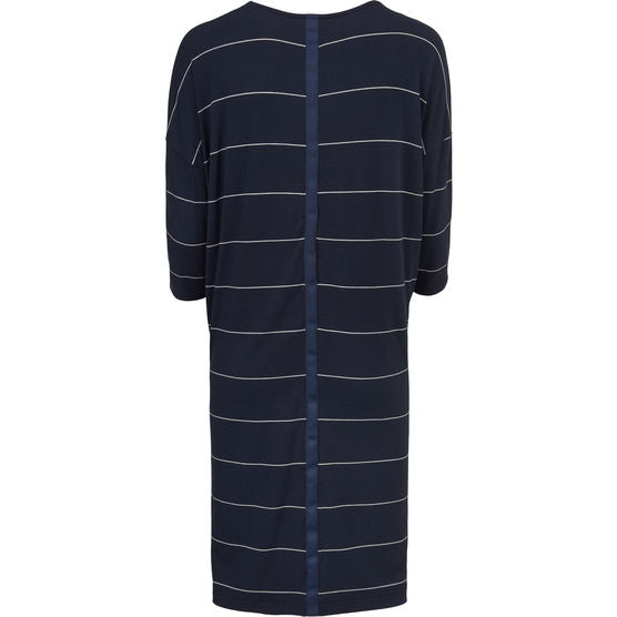 Masai Nebine 3/4 Sleeve Dress for Ladies in Navy Org