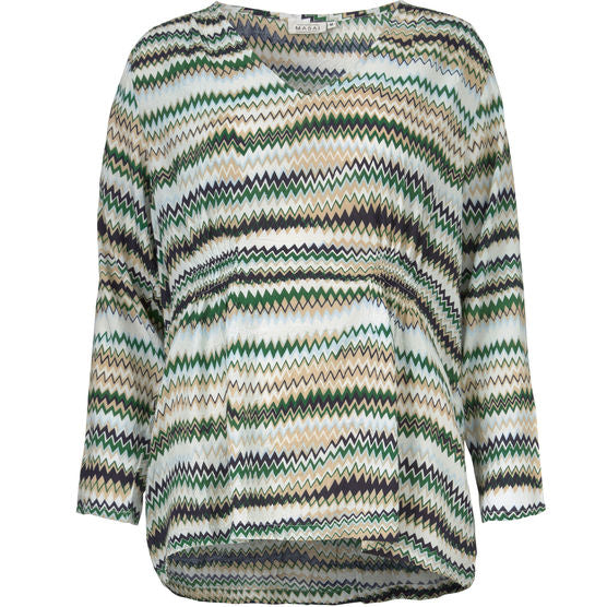 Masai Daphne Long Sleeve Top for Ladies in Amazone Org