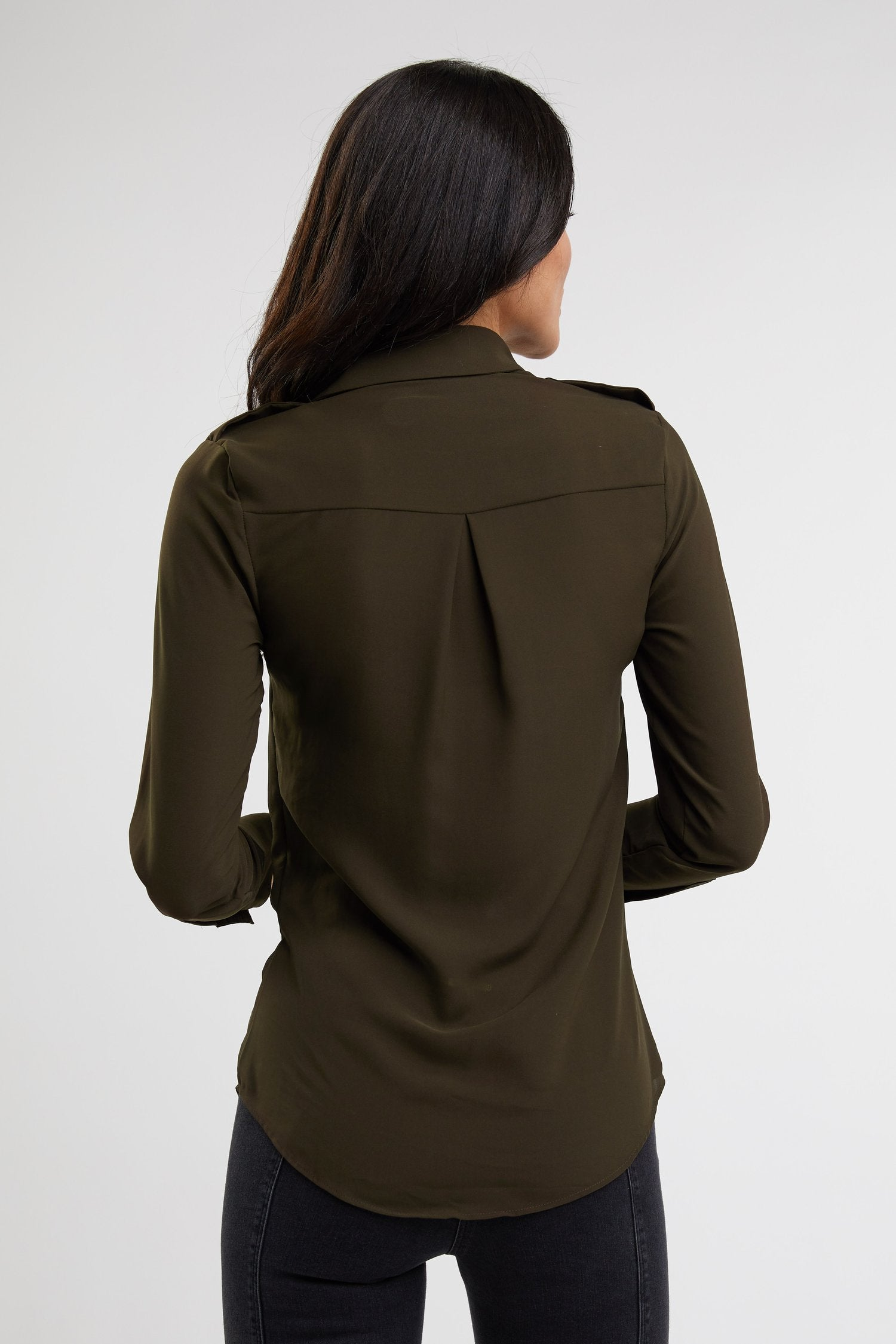 Holland Cooper Luxury Shirt for Ladies in Khaki