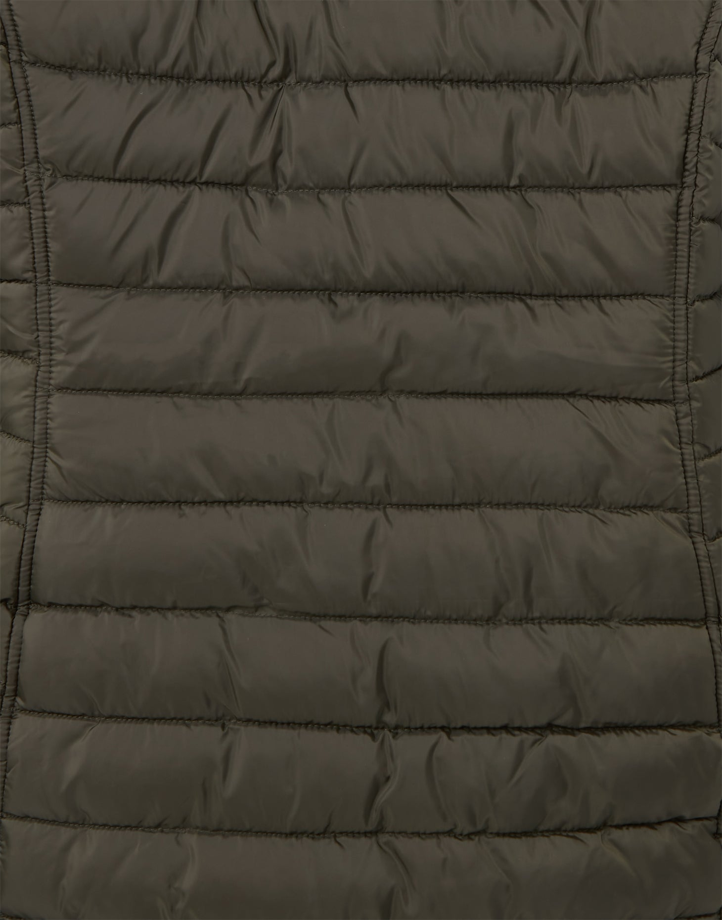 Joules Canterbury Long Luxe Padded Jacket for Ladies in Heritage Green