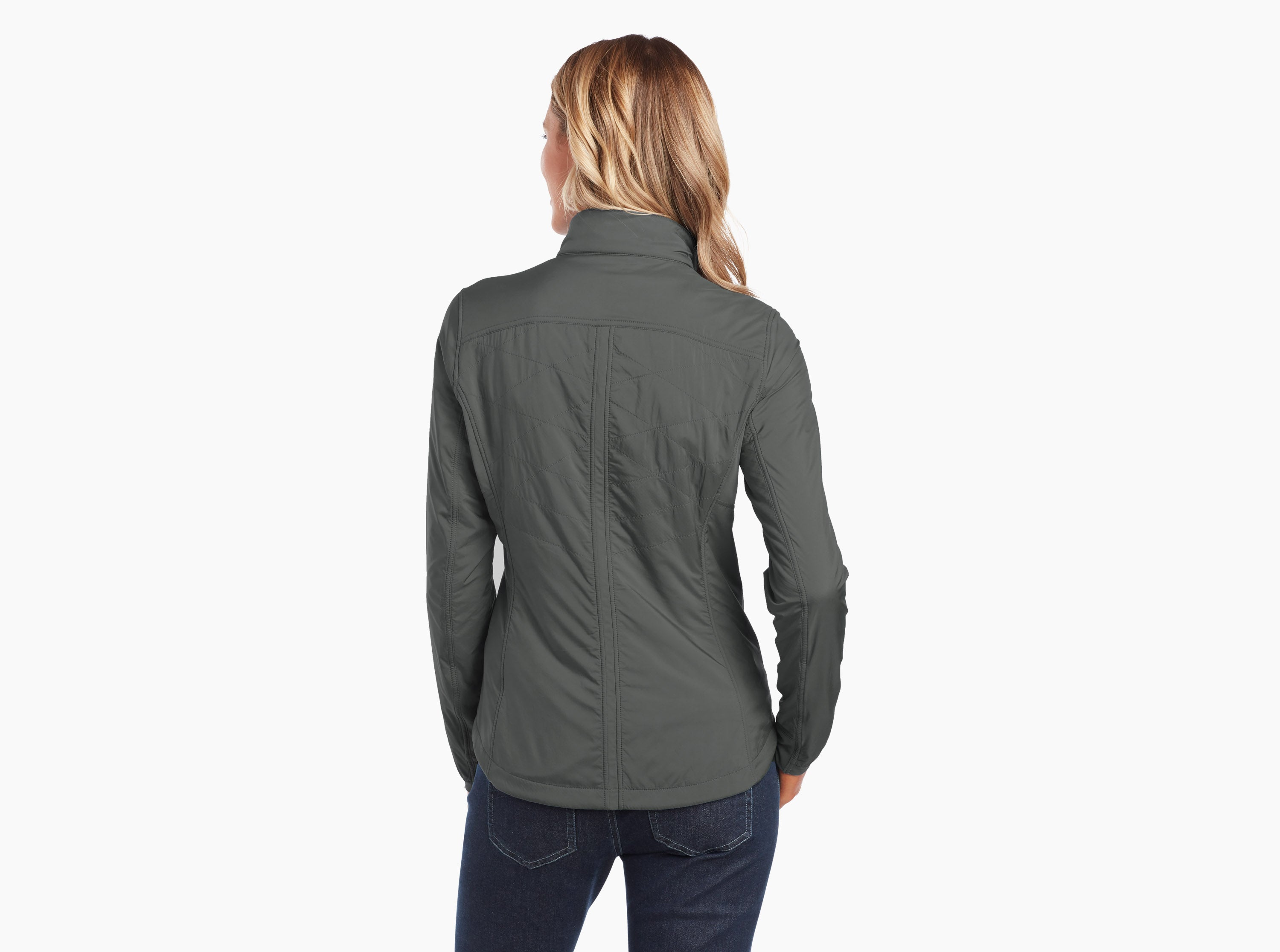 Kuhl The One Insulated Jacket for Ladies in Sea Pine