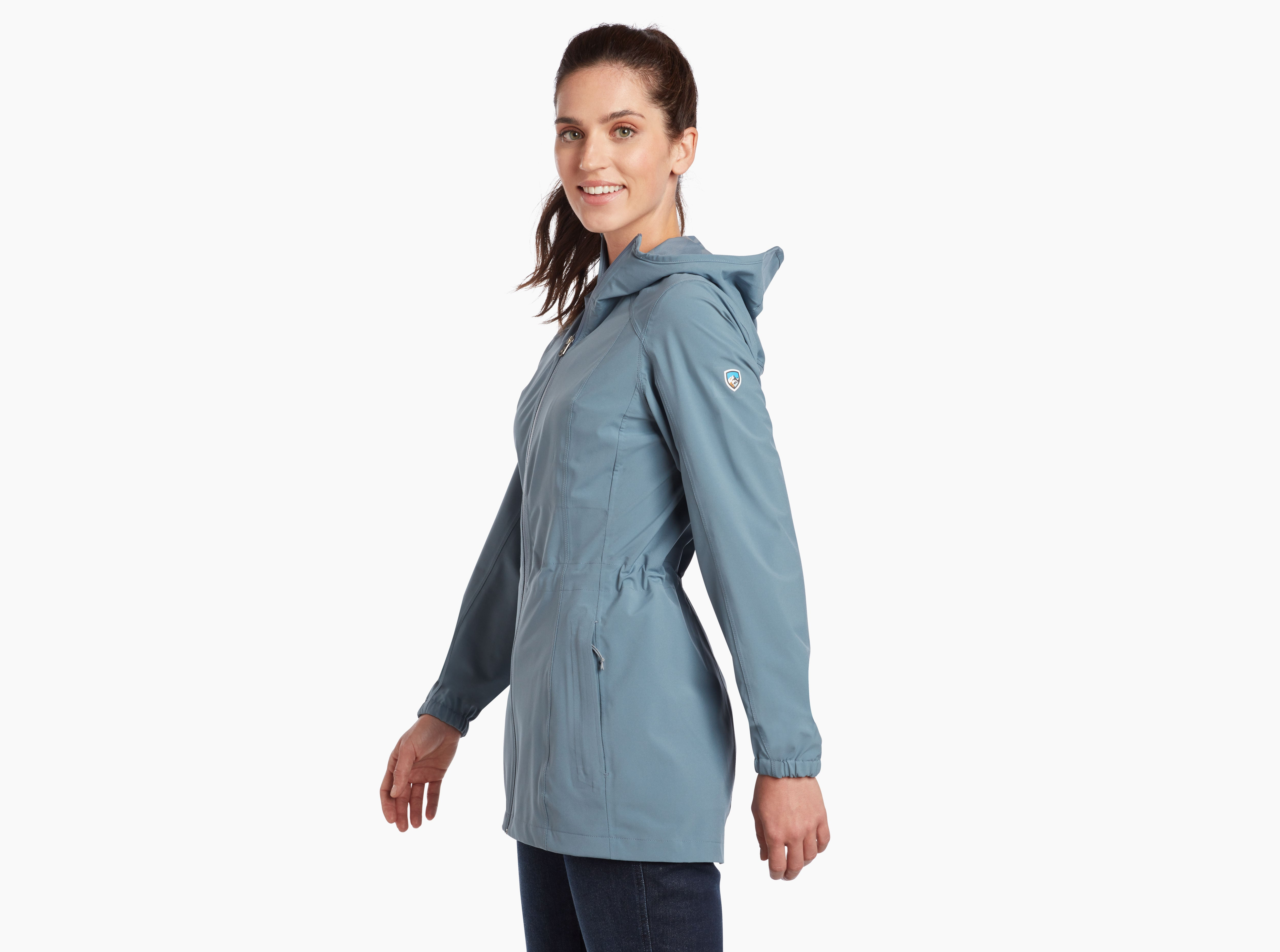 Kuhl Stretch Voyagr Jacket for Ladies in Cornflower Blue