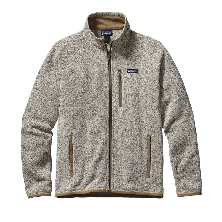 Patagonia Better Sweater Jacket for Men in Bleached Stone