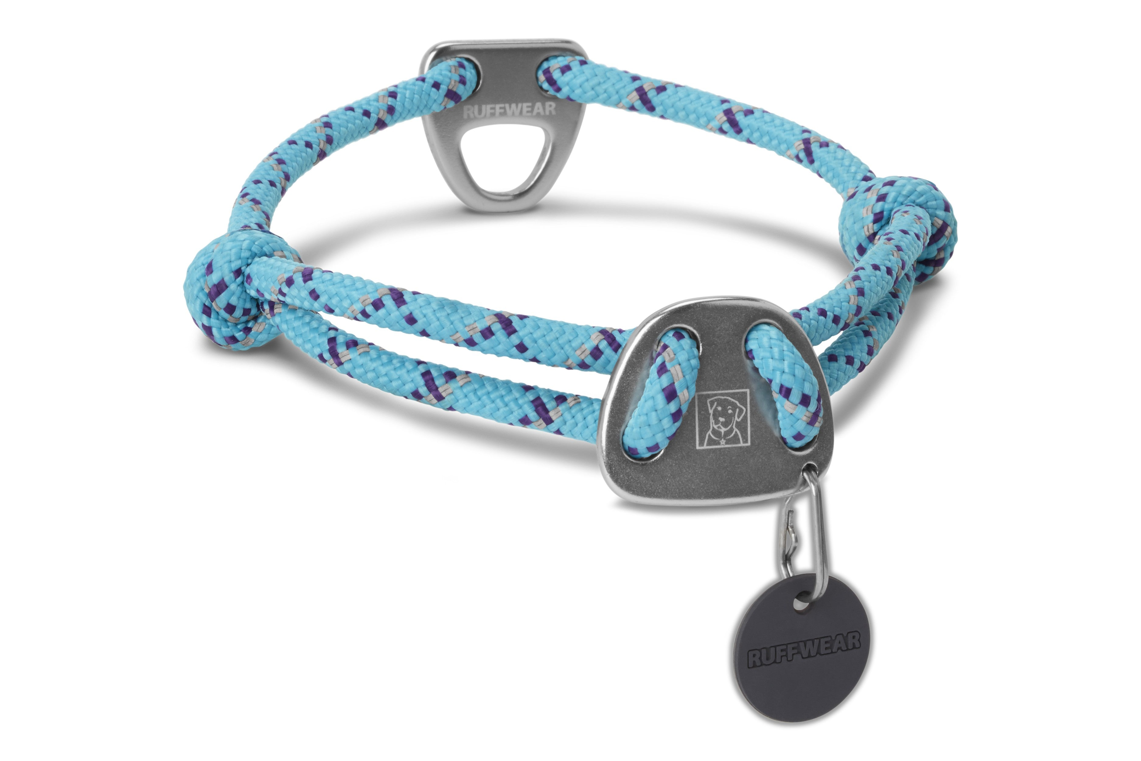 Ruffwear Knot A Collar for Dogs in Blue Atoll