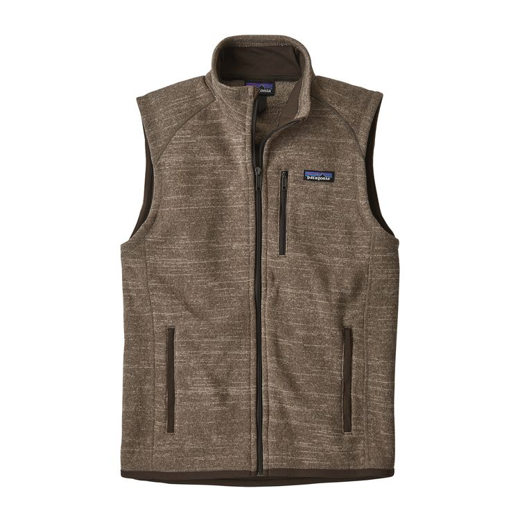 Patagonia Better Sweater Vest for Men in Pale Khaki