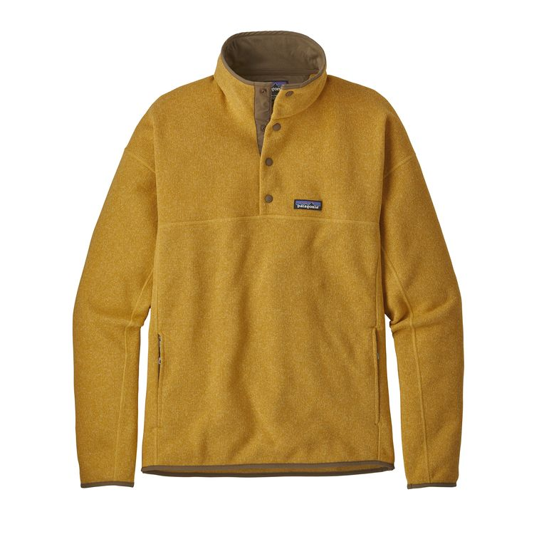 Patagonia Better Sweater Marsupial for Men in Surfboard Yellow