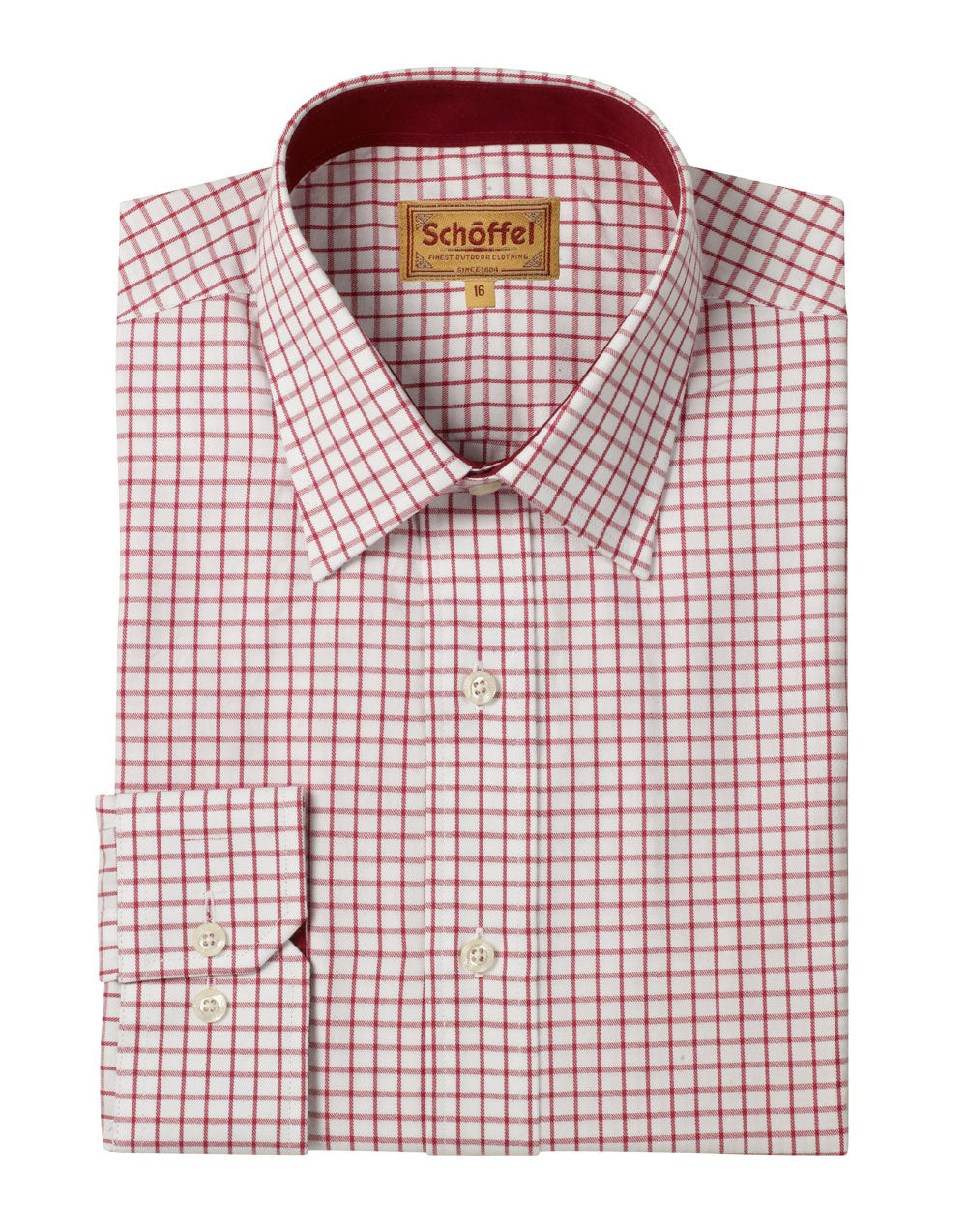 Schoffel Cambridge Checked Shirt for Men in Red