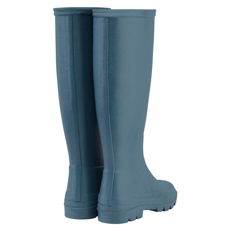 Le Chameau Iris Jersey Lined Wellington Boot for Ladies in Bleu Clair