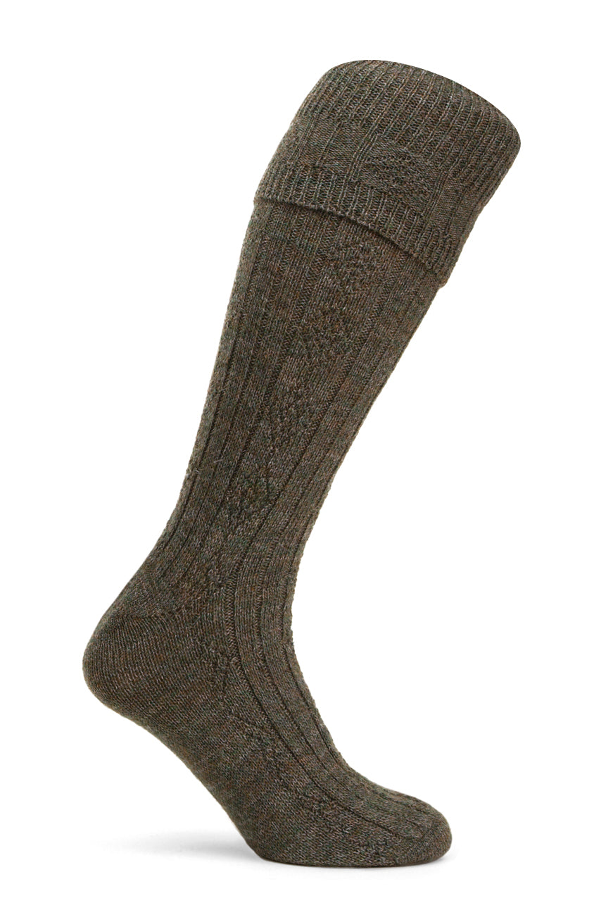 Pennine Beater Shooting Socks for Men in Derby Tweed