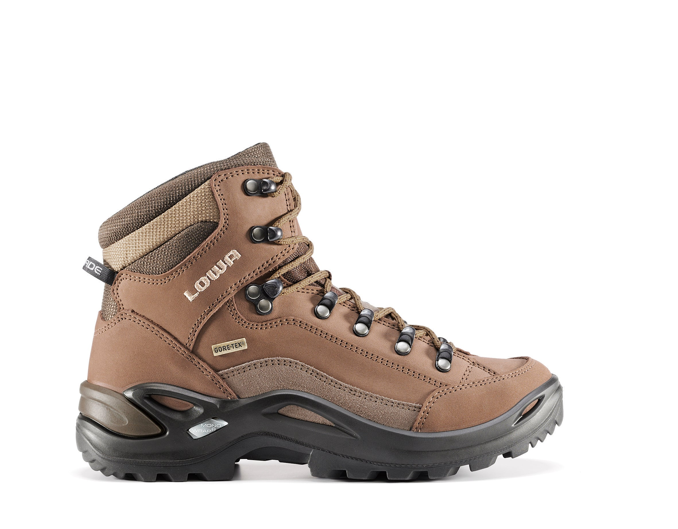 Lowa Renegade Mid GTX Walking Boot for Ladies in Taupe