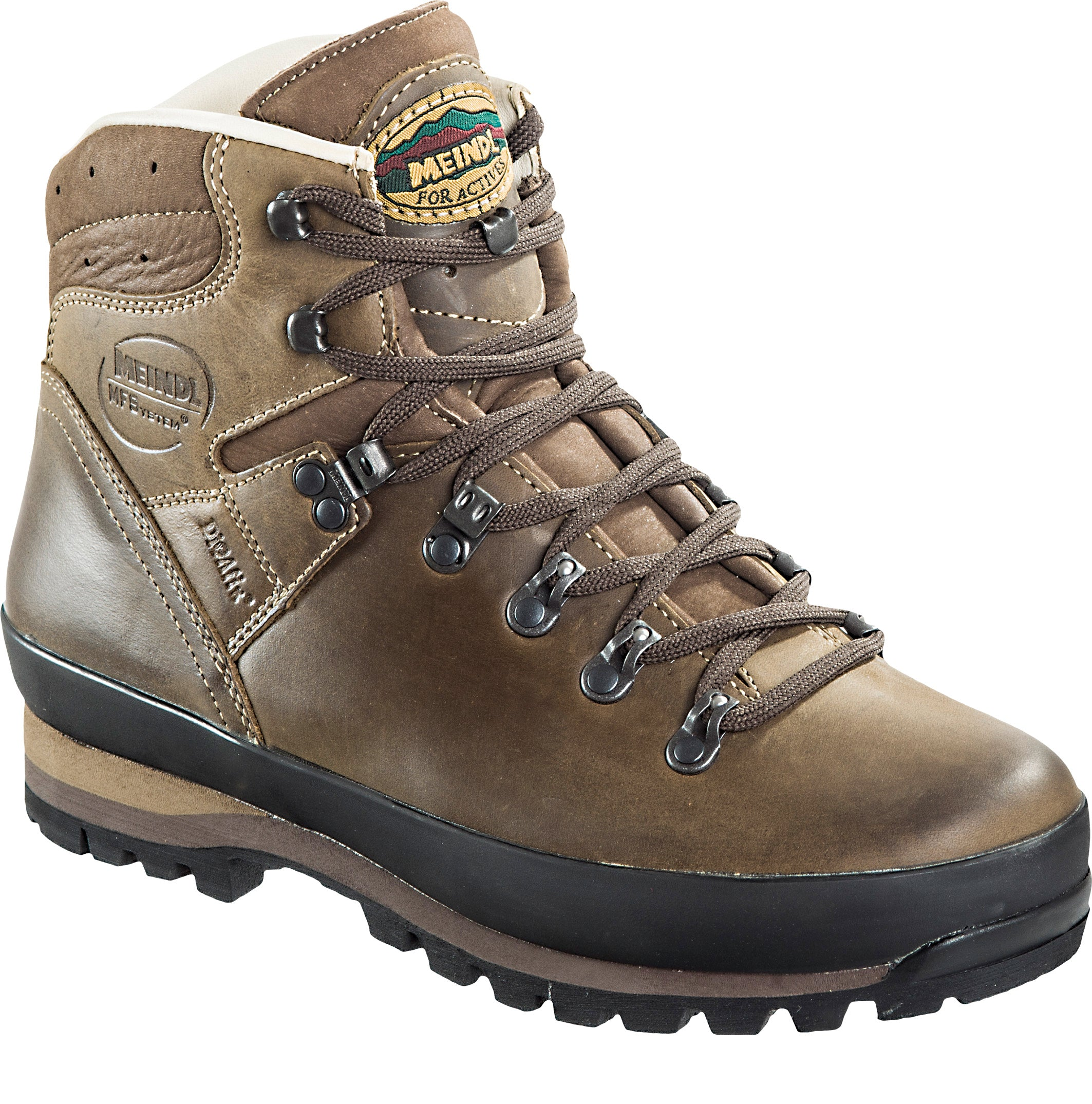 Meindl Borneo II Walking Boot for Men in Dark Brown
