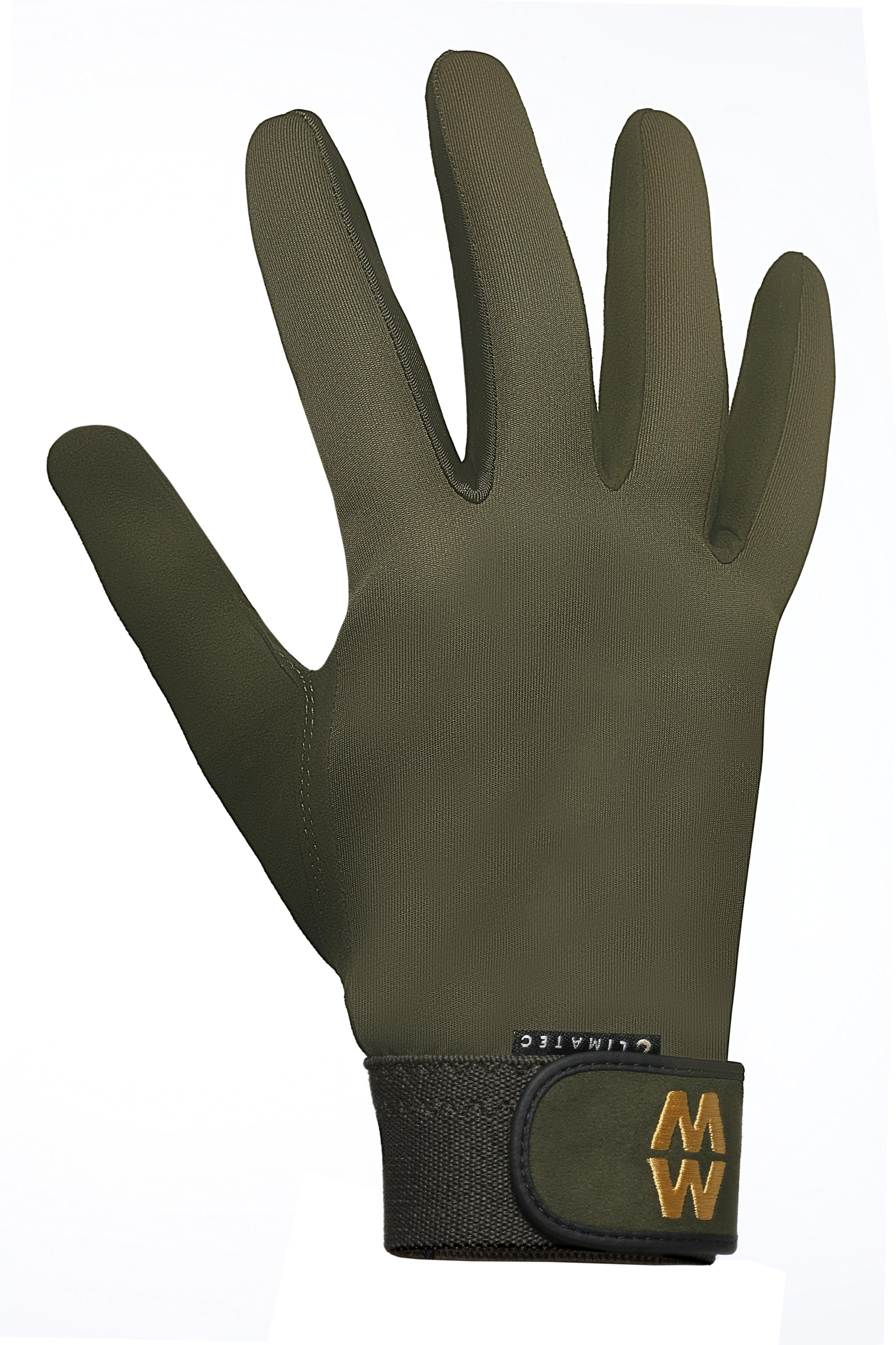 Macwet Climatec Long Cuff Gloves in Green