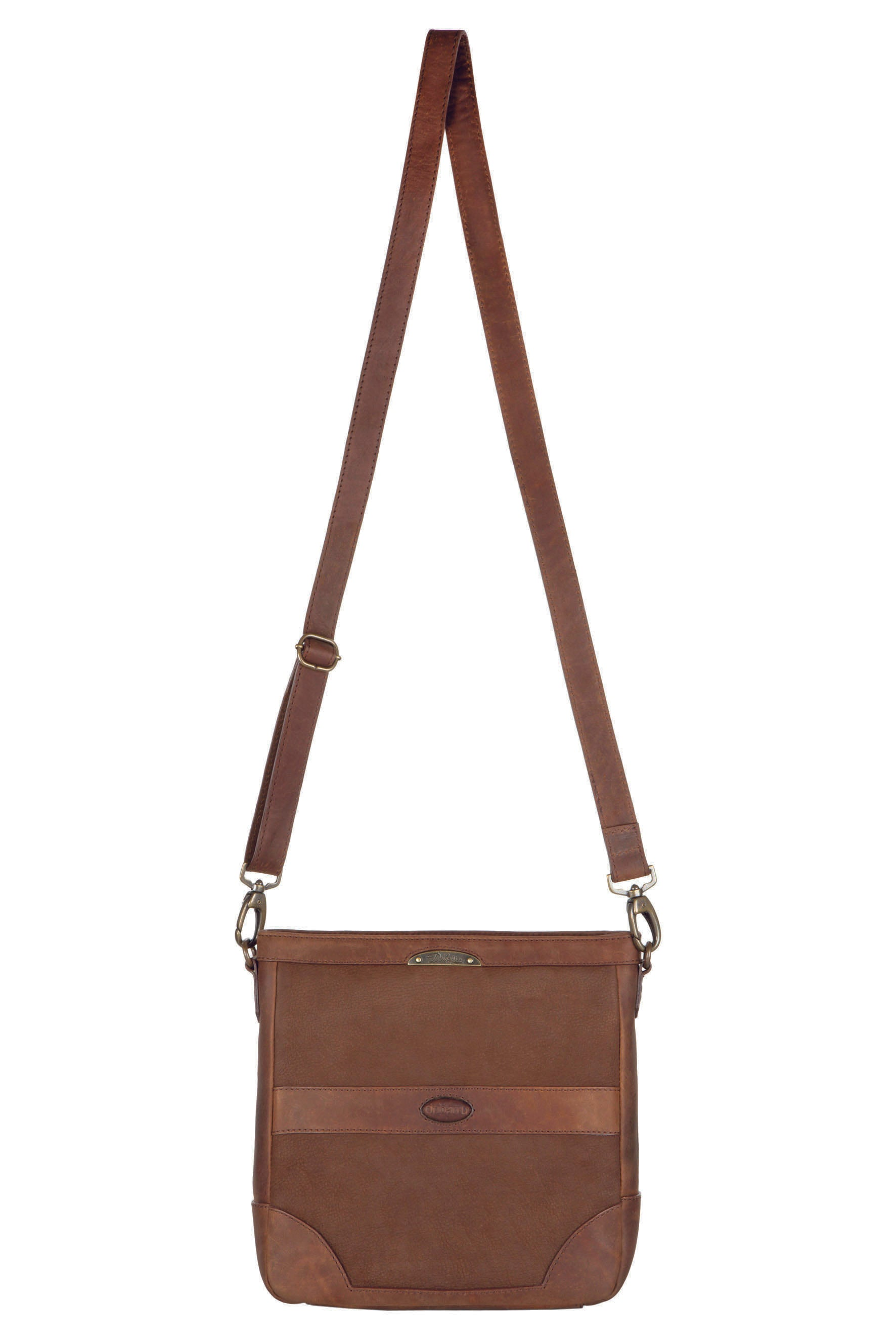 Dubarry Ardmore Messenger Leather Bag for Ladies in Walnut