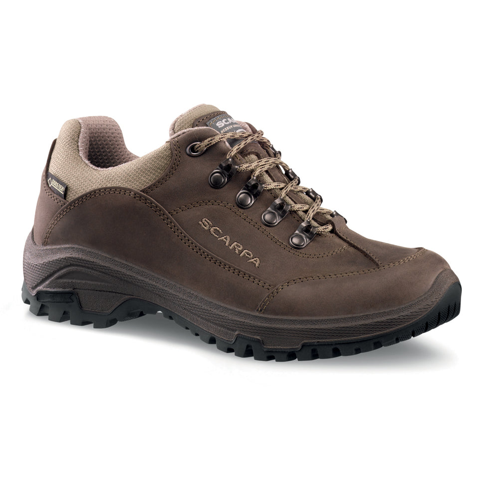 Scarpa Cyrus GTX Walking Shoe for Ladies in Brown