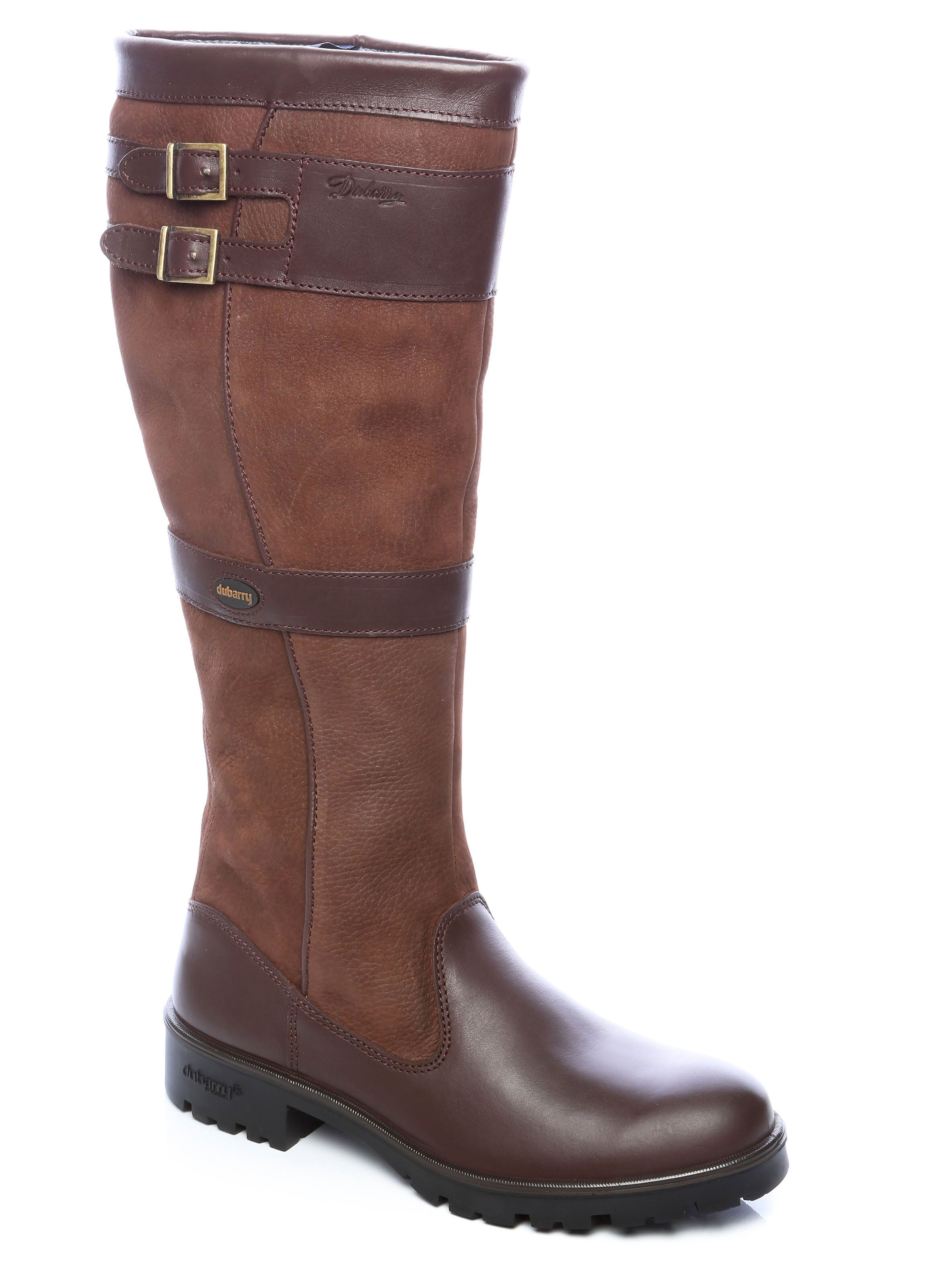 Dubarry Longford Leather Boot for Ladies in Walnut
