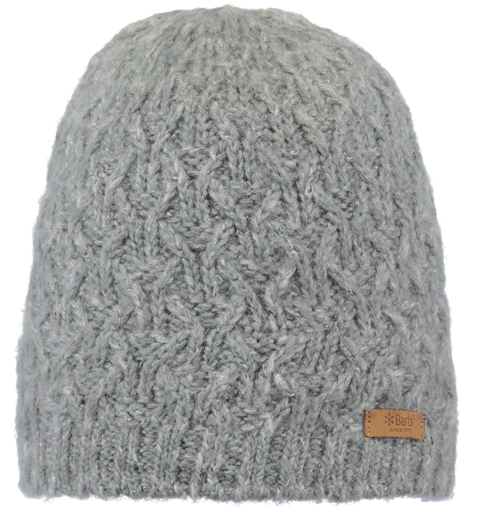 Barts Virginia Beanie for Ladies in Heather Grey