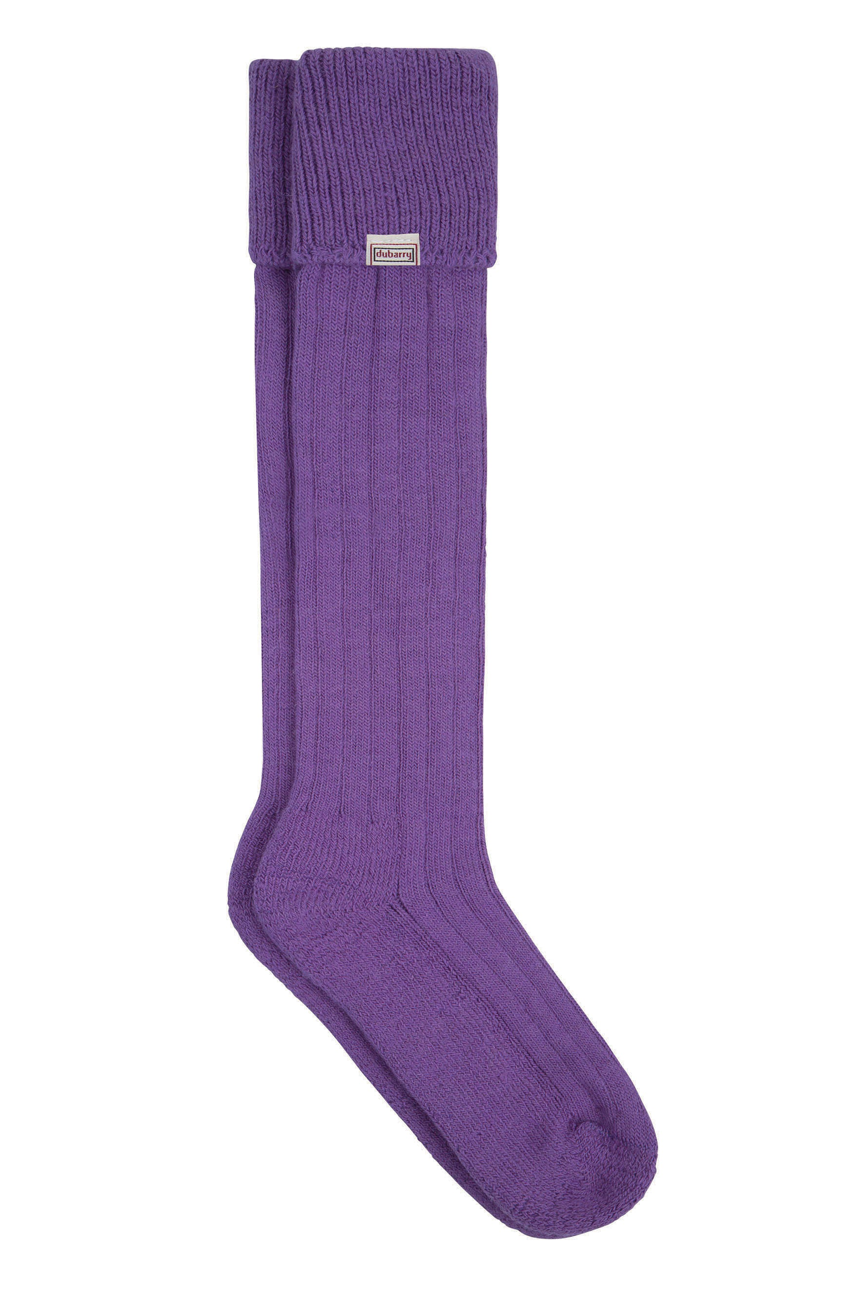 Dubarry Alpaca Socks For Ladies in Purple