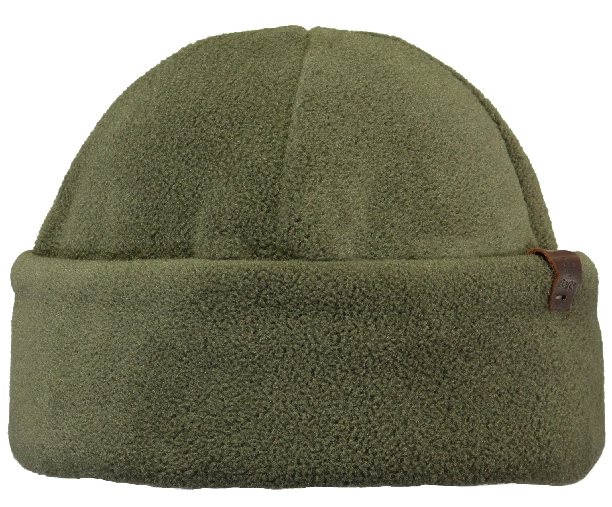 Barts Venture Turnup Hat in Army Green
