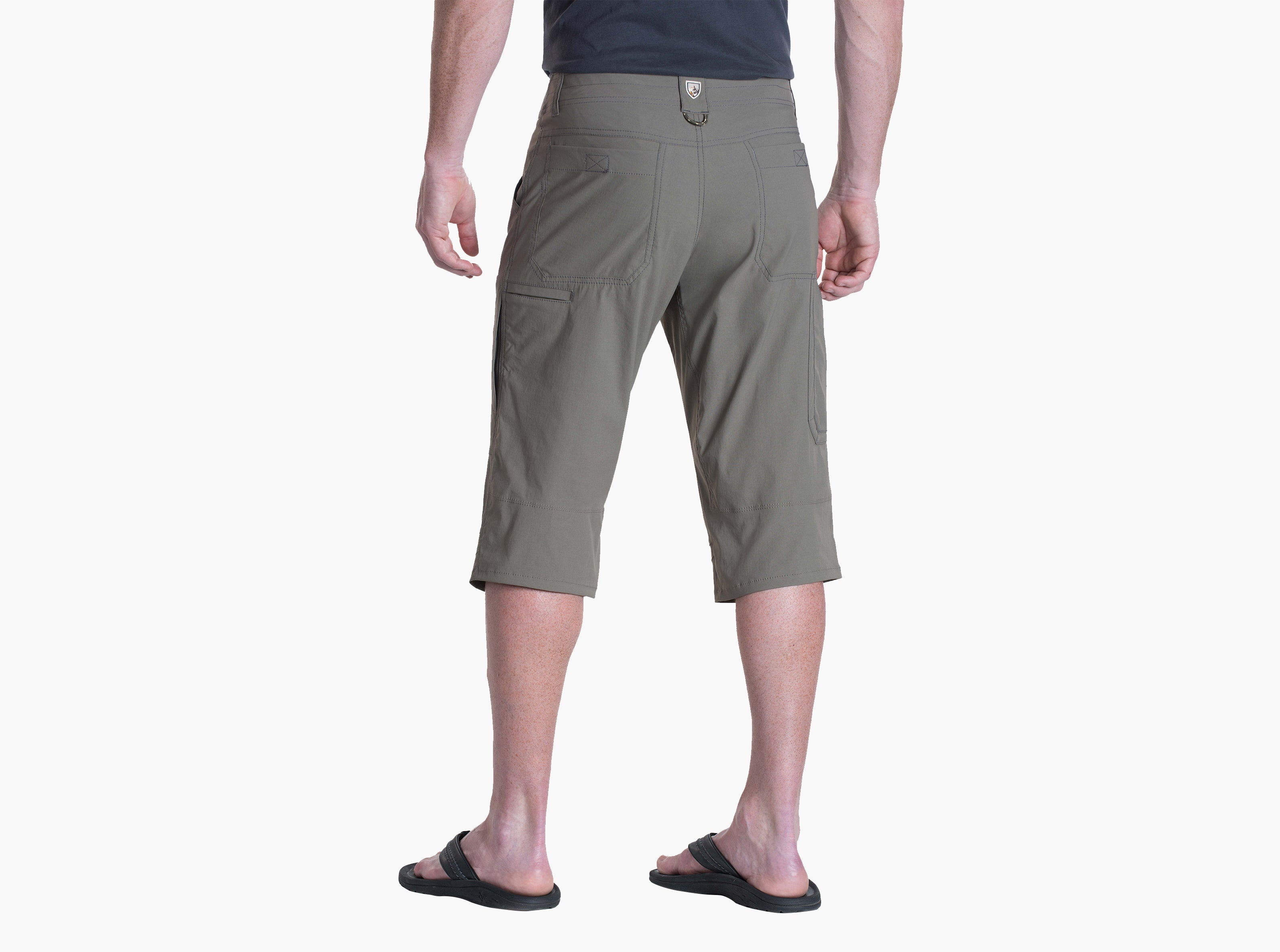 Kuhl Renegade Krux Short for Men in Khaki