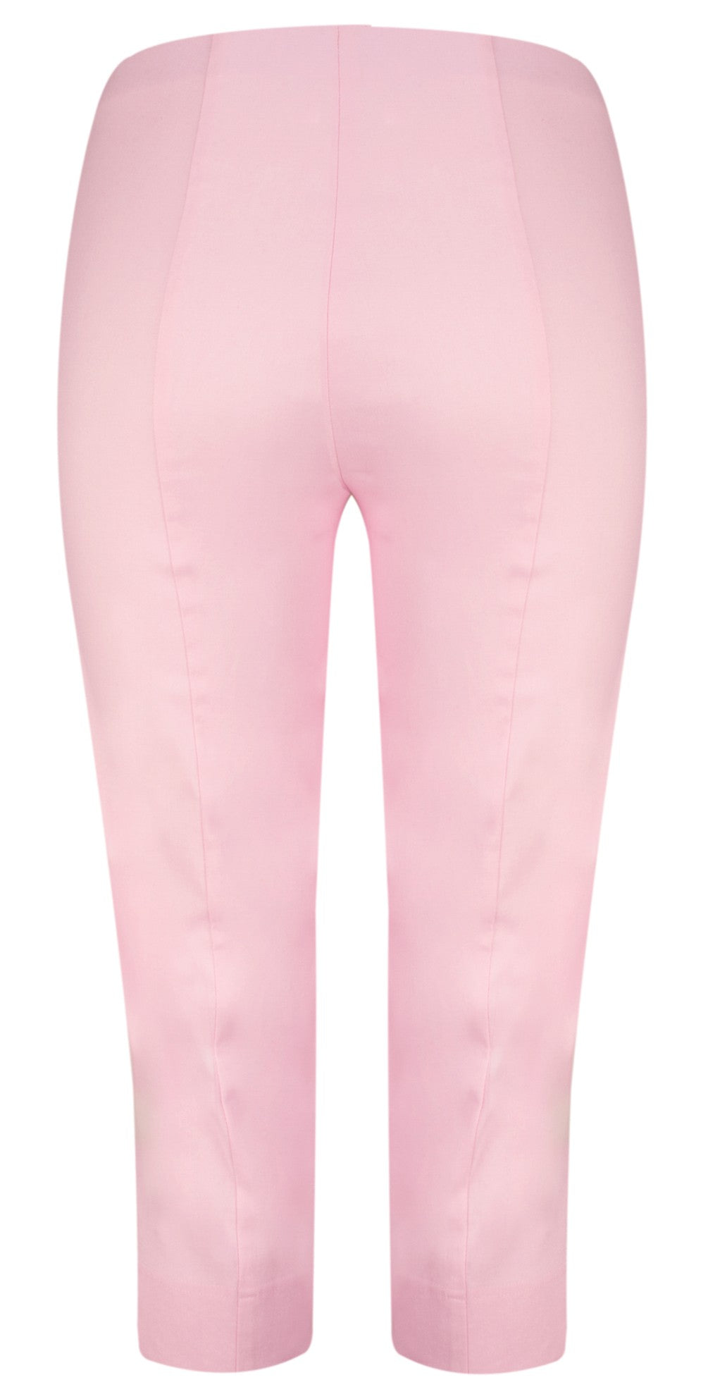 Robell Marie Capri Trousers for Ladies in Baby Pink