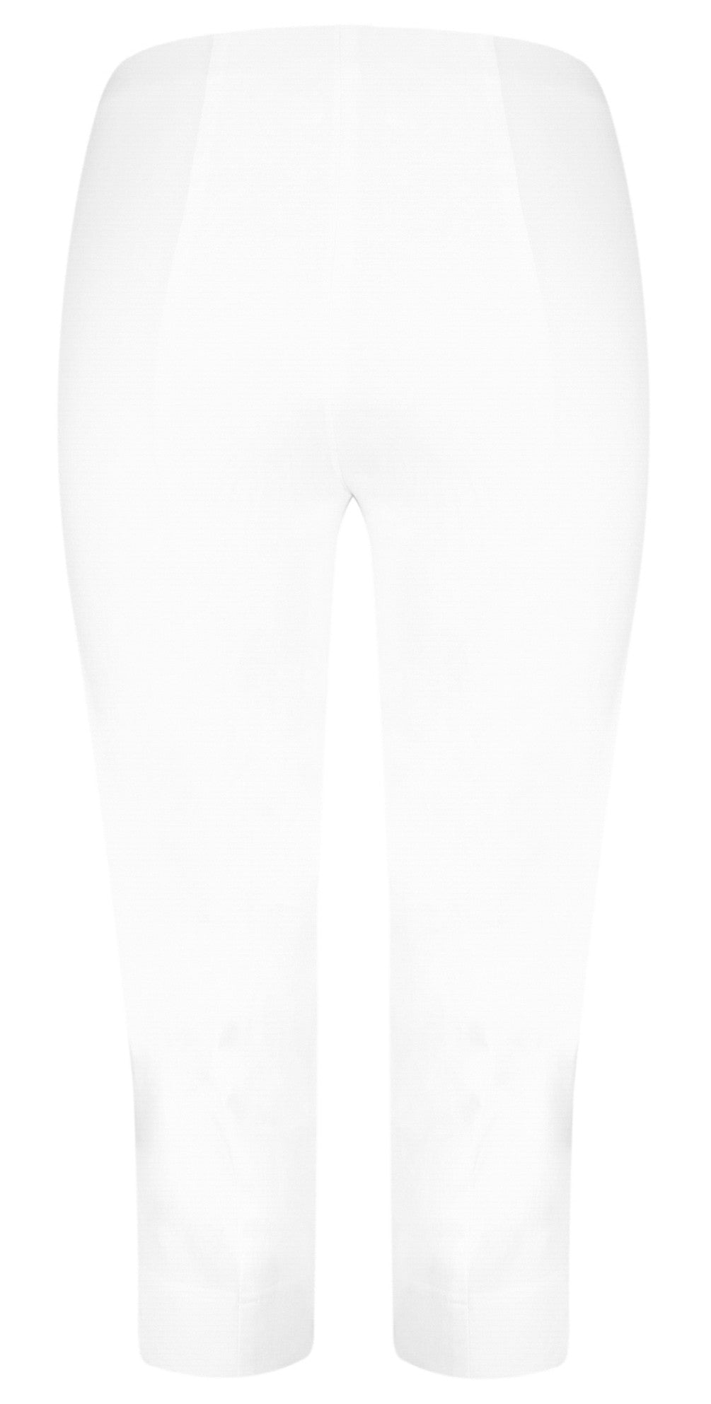 Robell Marie Capri Trousers for Ladies in White