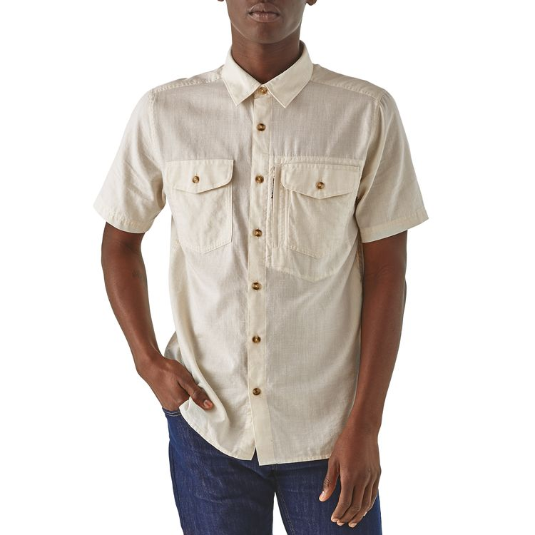 Patagonia Cayo Largo II Shirt for Men in Chambray Pelican