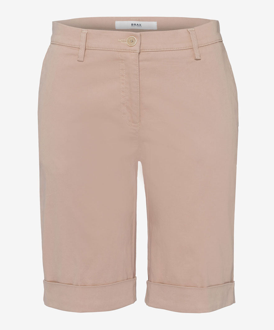 Brax Mia S Shorts for Ladies in Beige