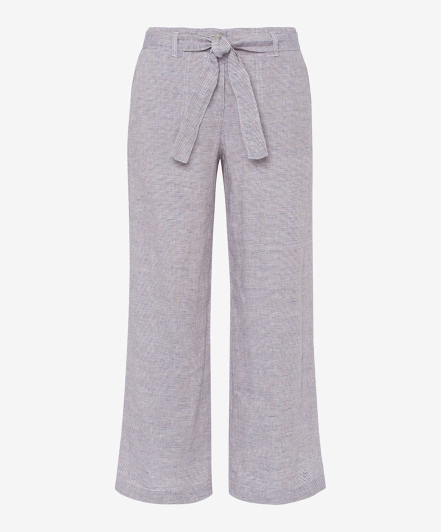 Brax Maine Culotte Trousers for Ladies in Beige