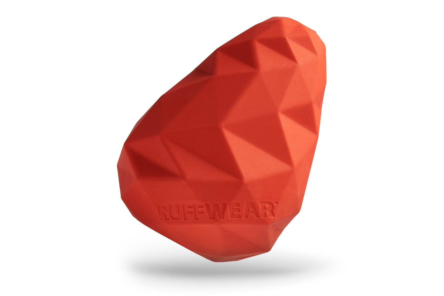 Ruffwear Gnawt A Cone Toy for Dogs in Red Currant