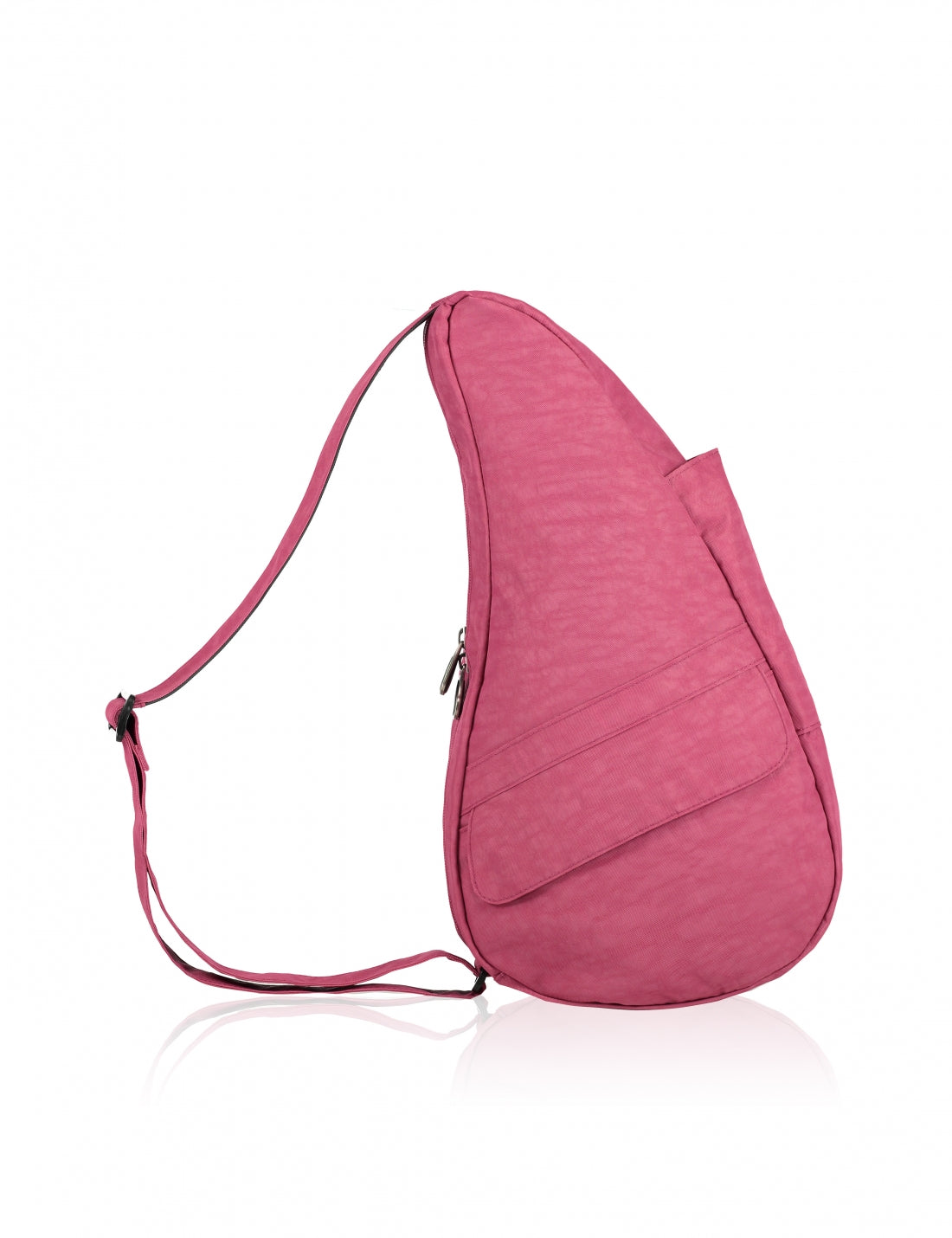 Healthy Back Bag Textured Nylon Bag in Cranberry