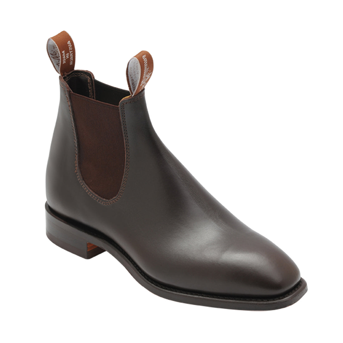 R M Williams Craftsman Yearling Boot for Men in Chestnut