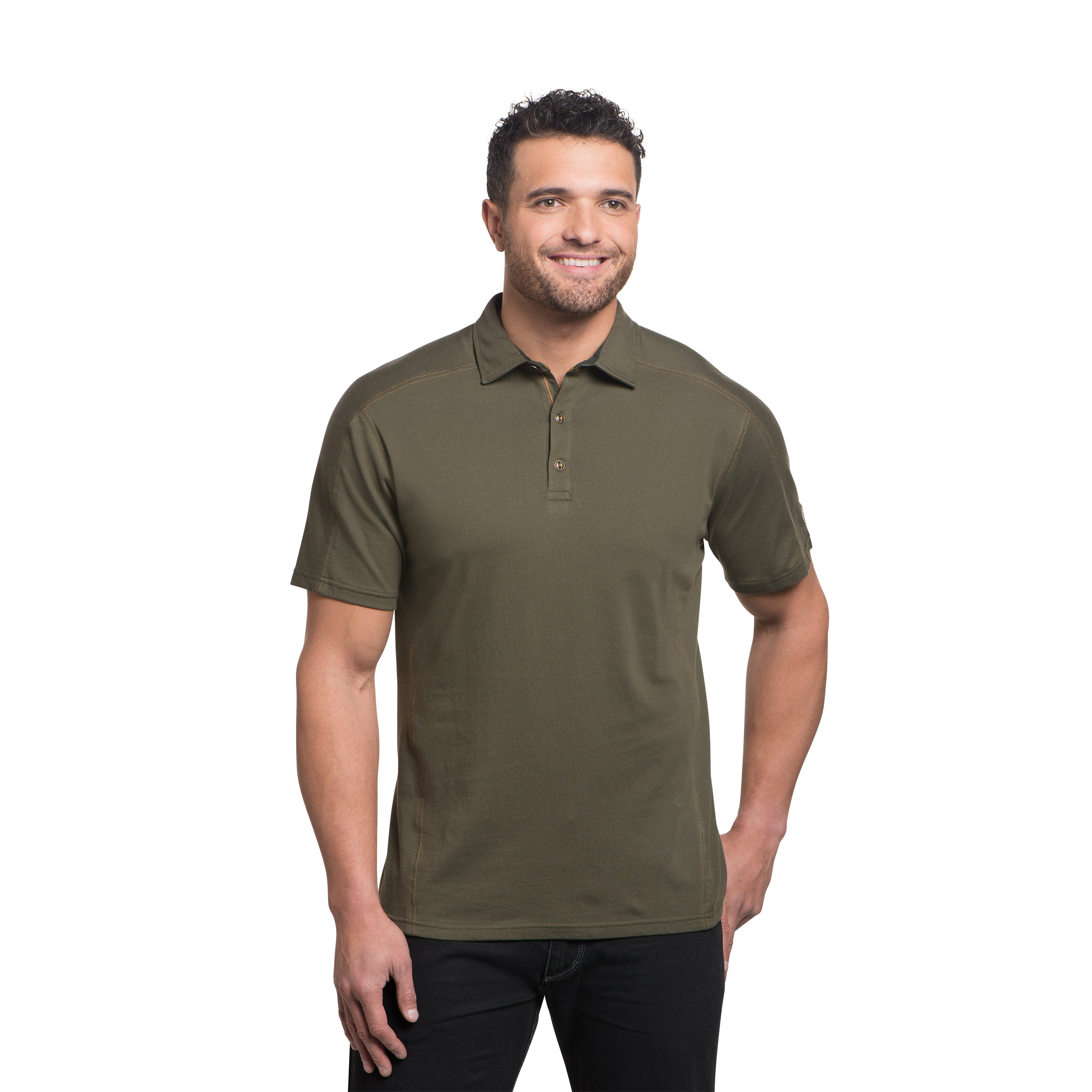 Kuhl Wayfarer Tee for Men in Olive