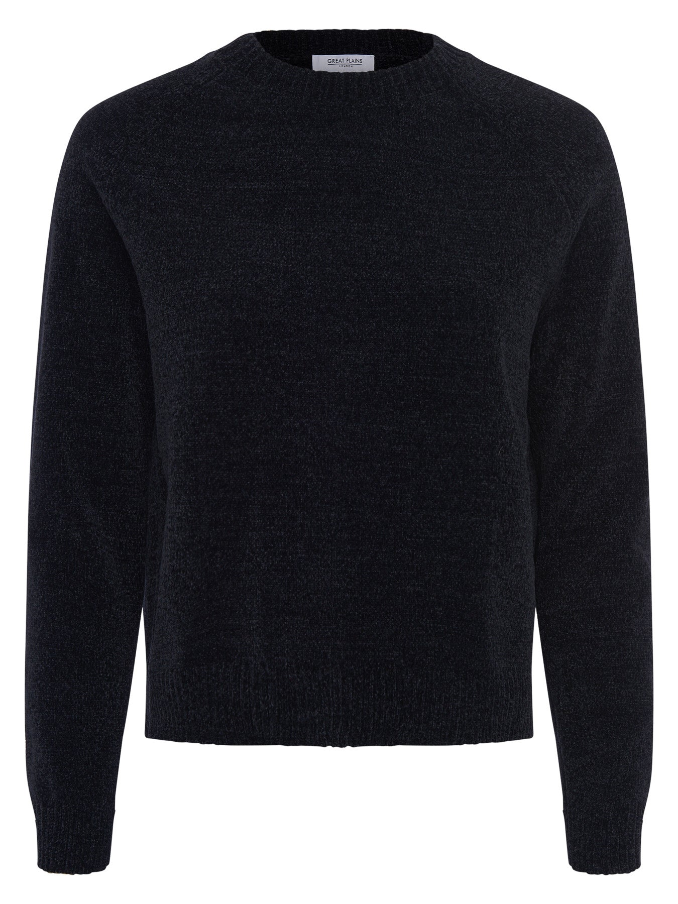 Great Plains Bethan Knit Crew Neck Jumper for Ladies in Black