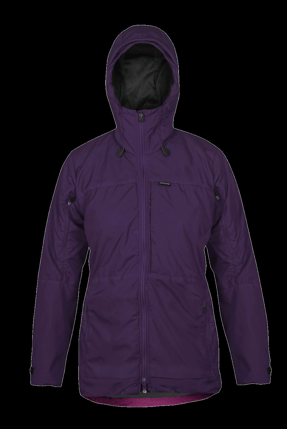 Paramo Alta III Waterproof Jacket for Ladies in Elderberry