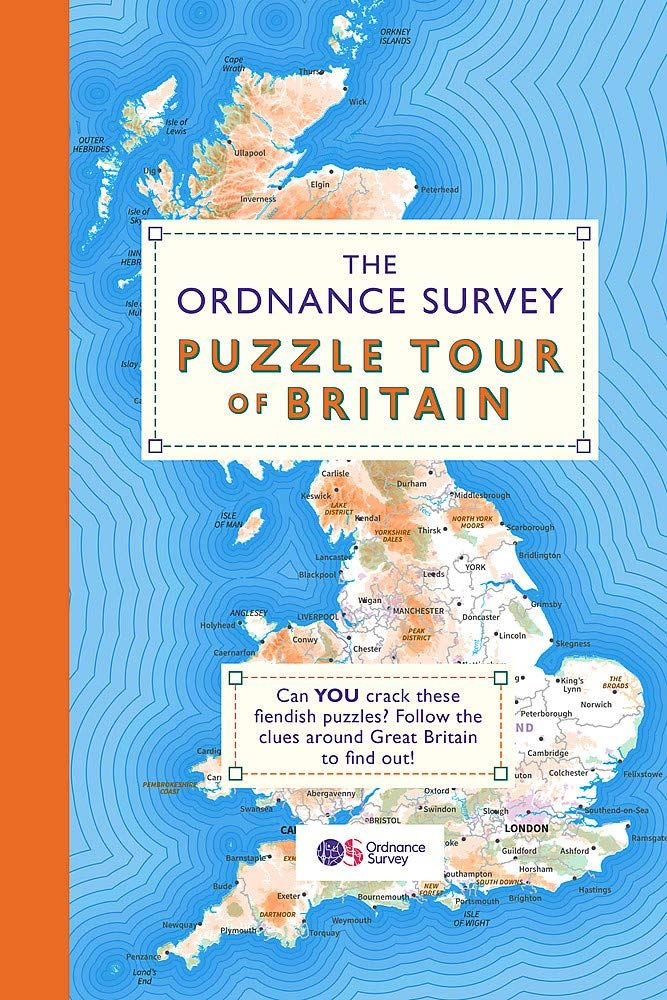 Bookspeed Ordnanace Survey Puzzle Tour GB Book