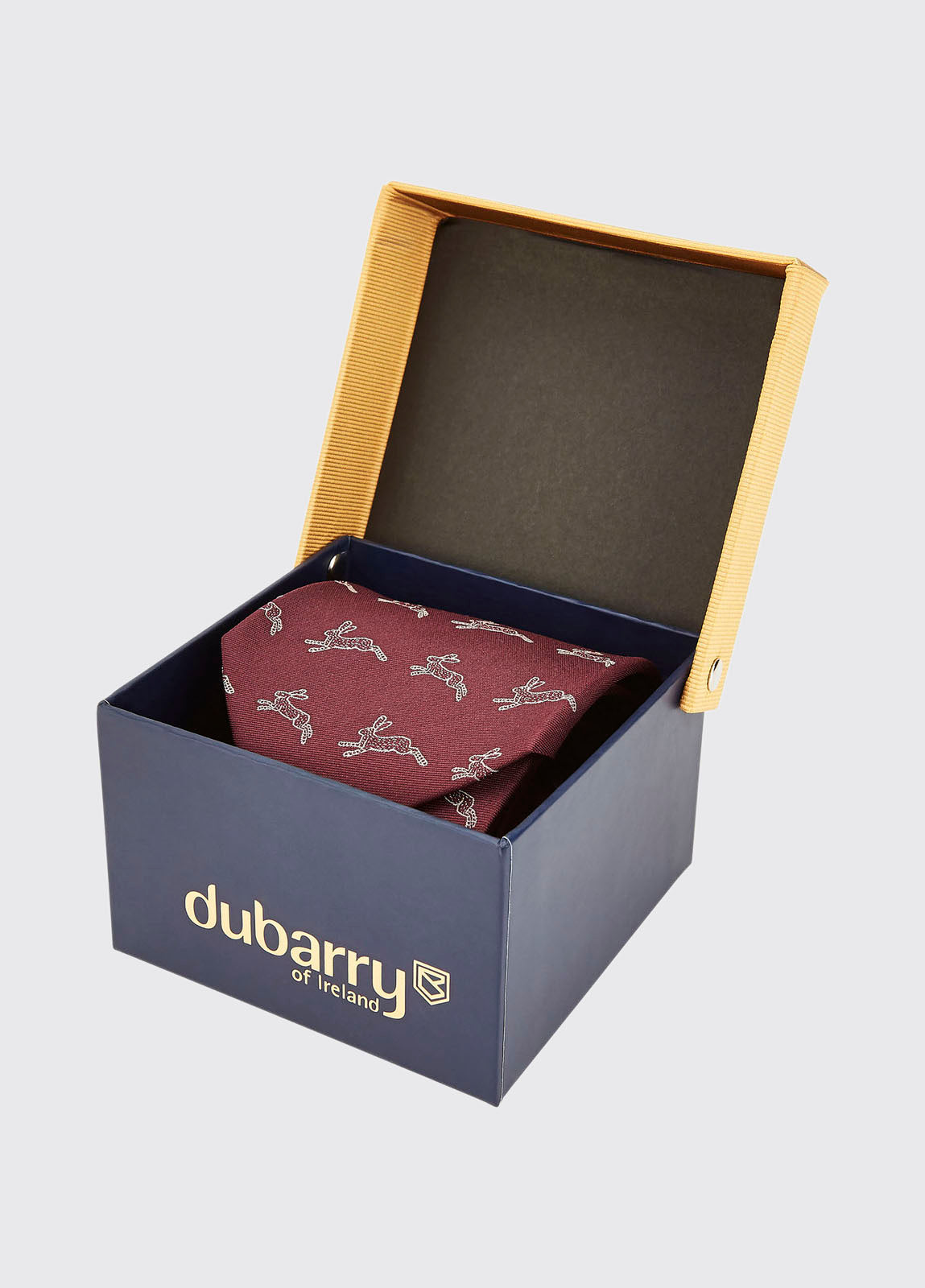 Dubarry Lacken Tie for Men in Merlot
