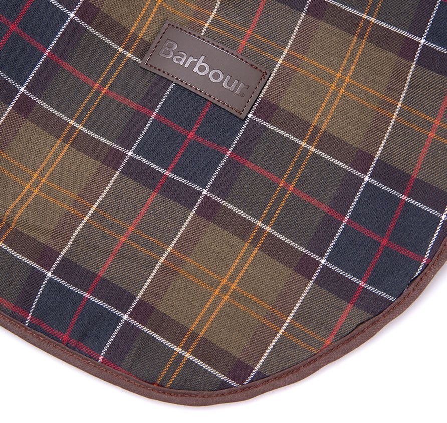 Barbour Medium Dog Blanket in Classic Brown