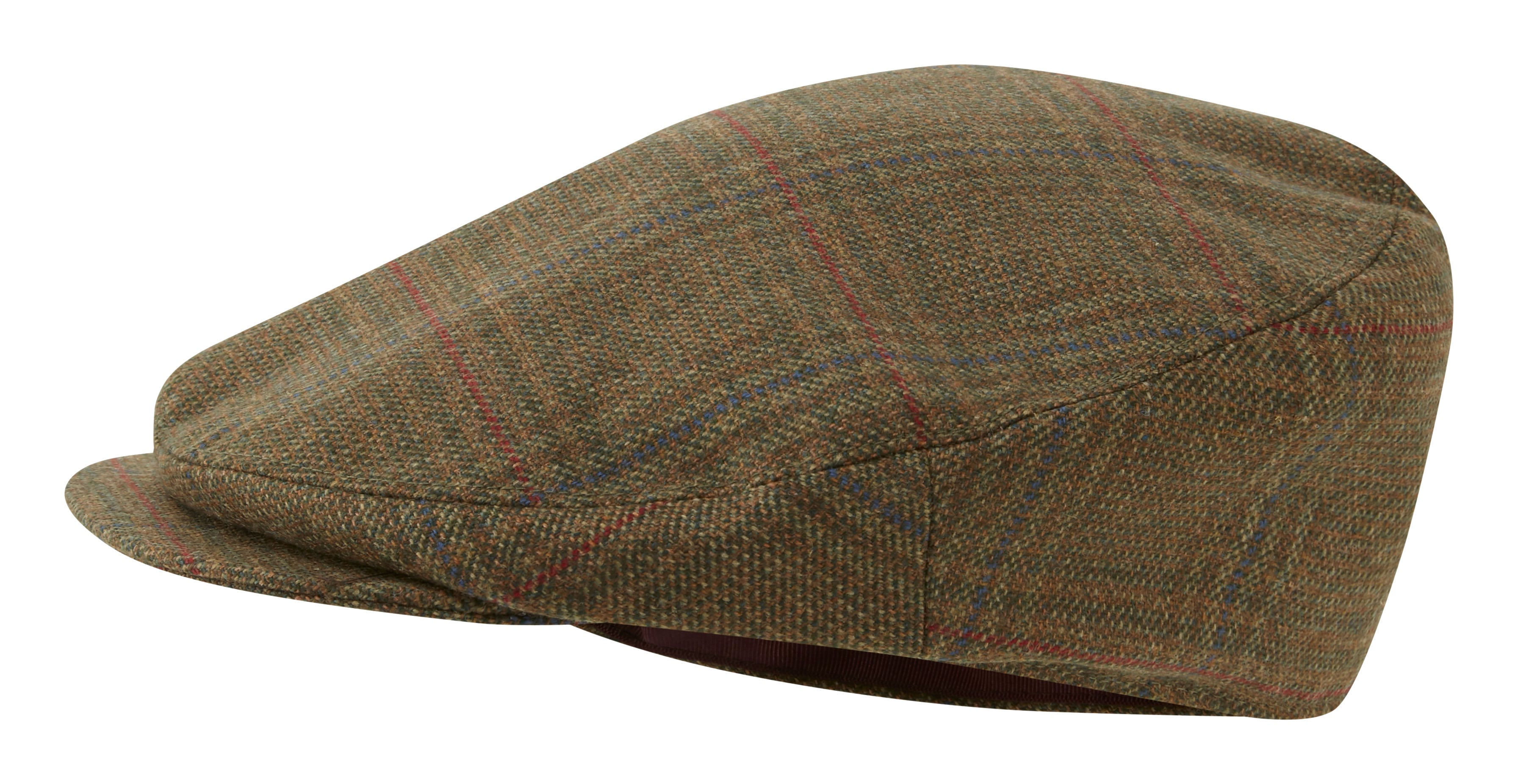 Schoffel Countryman Tweed Cap Buckingham Tweed