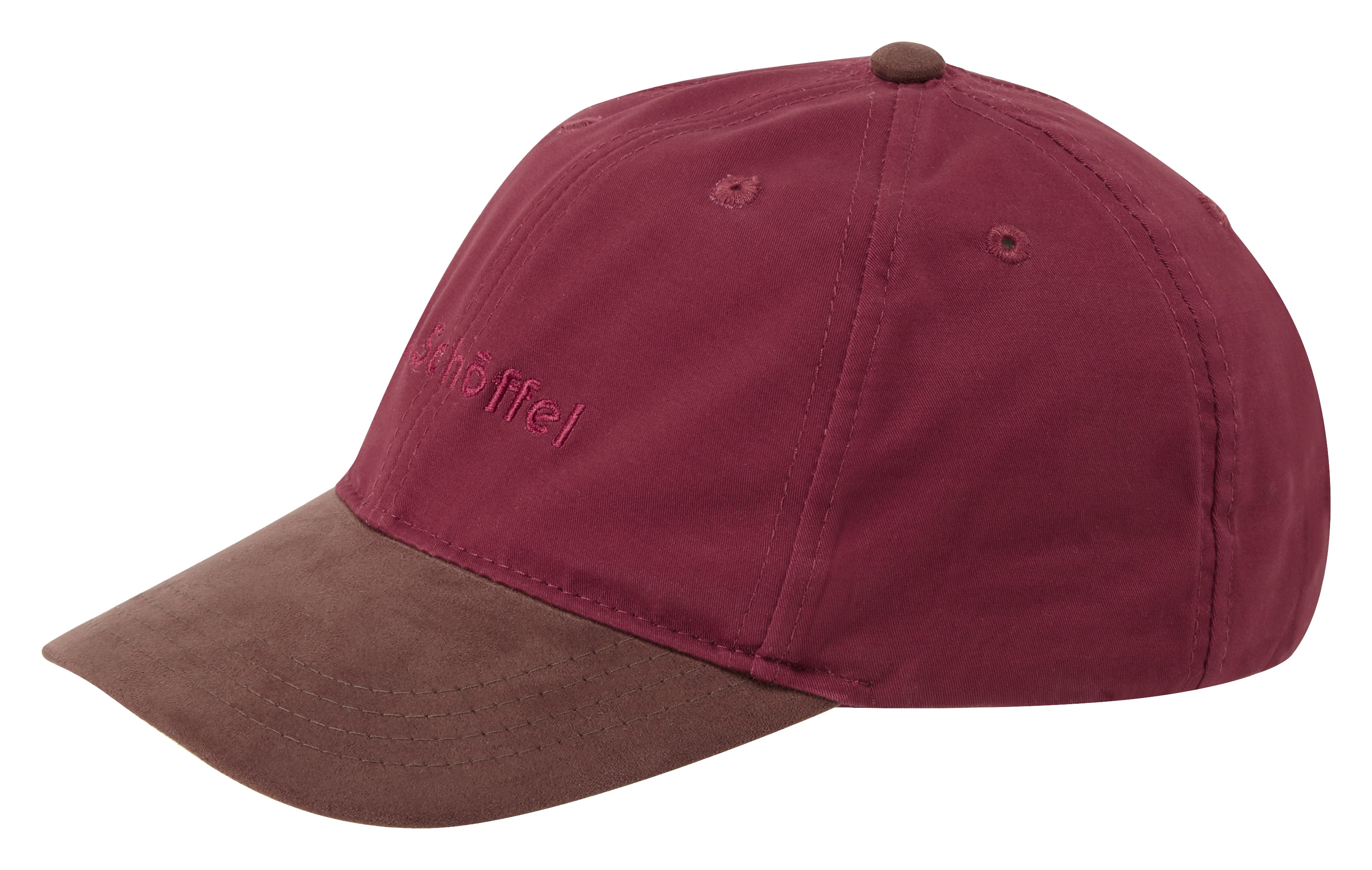 Schoffel Cowes Baseball Cap for Ladies in Fig