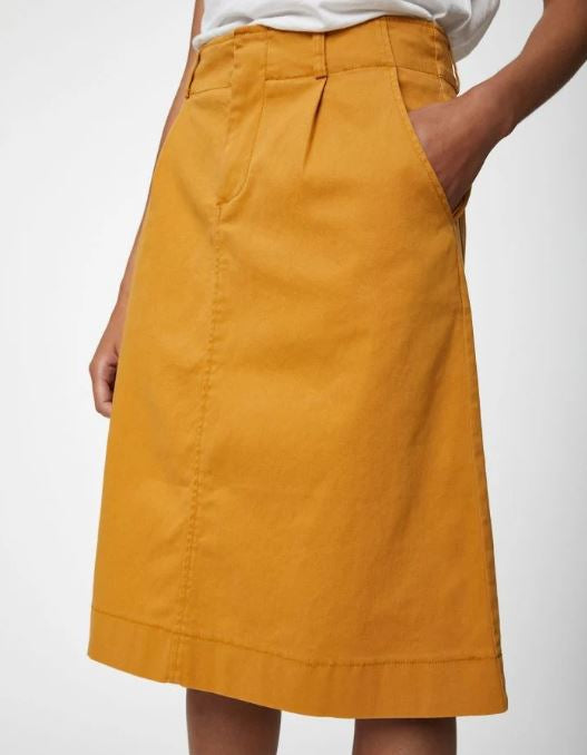 Thought Justine Skirt for Ladies in Saffron Yellow