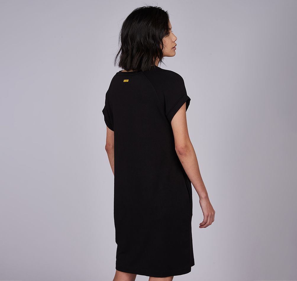Barbour International Hurricane Dress for Ladies in Black
