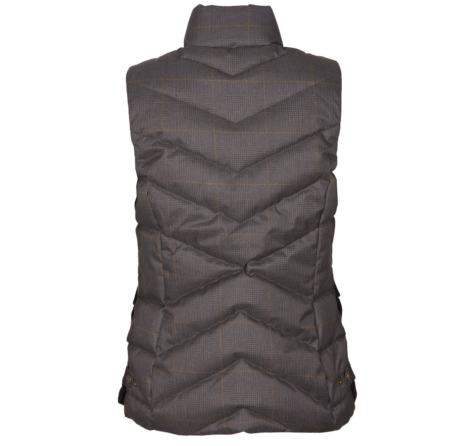 Barbour Kingston Gilet for Ladies in Olive Check